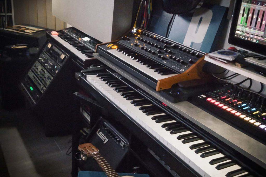 Enregistrement, Mixage, Production à distance en live